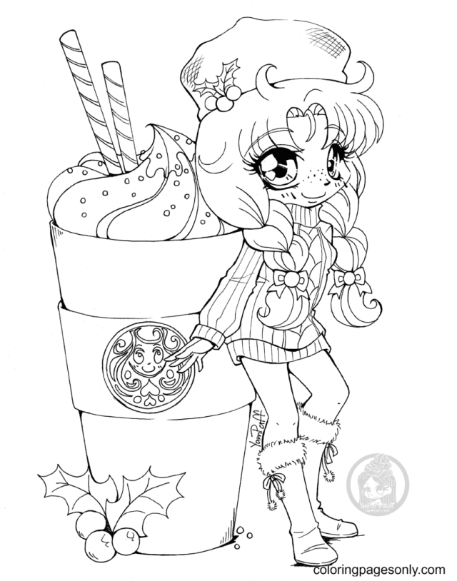 Starbucks Coloring Pages - Coloring Pages For Kids And Adults