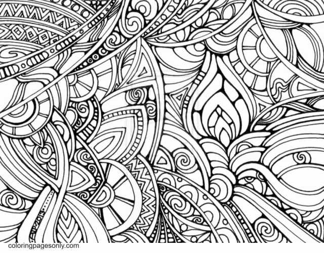 Trippy Pictures Coloring Pages - Trippy Coloring Pages - Coloring