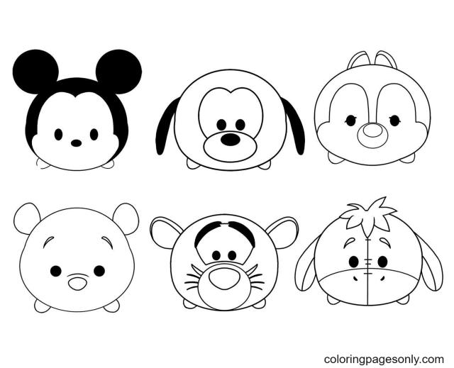 Dessin Kawaii Disney Mickey