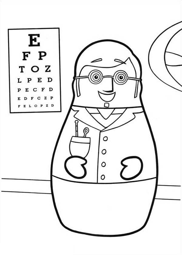 Pediatric Pages Coloring Pages