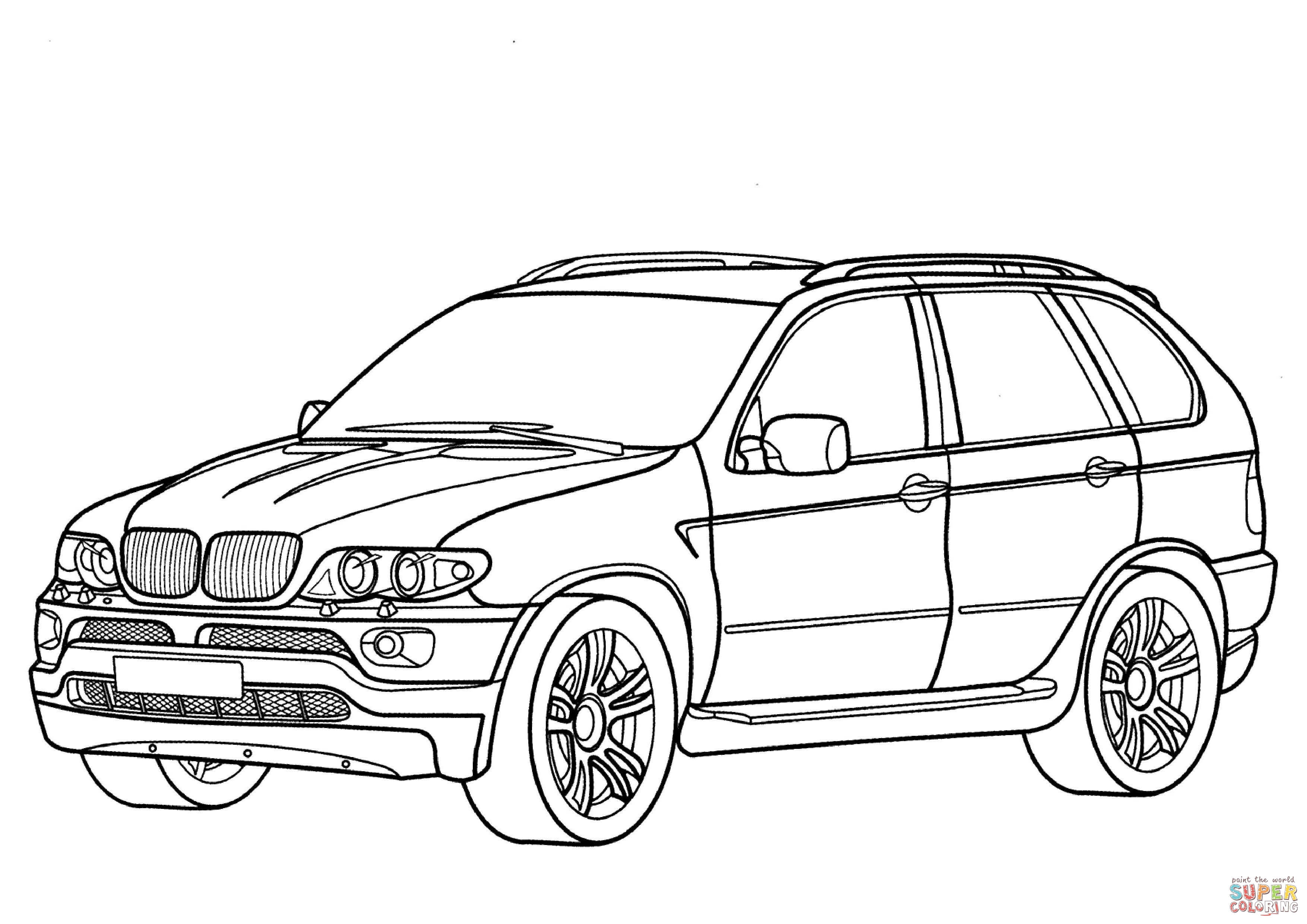 Bmw coloring pages to download and print for free