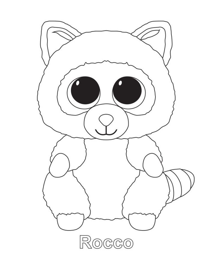 animal coloring pages ty beanie boo coloring pages