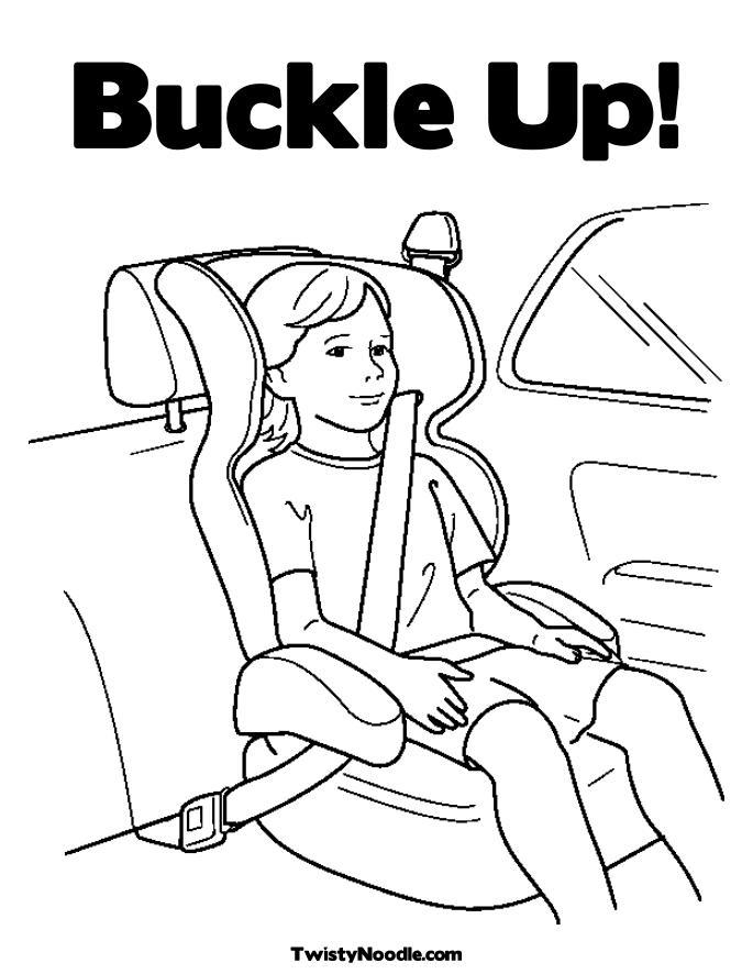 Safety coloring pages to download and print for free