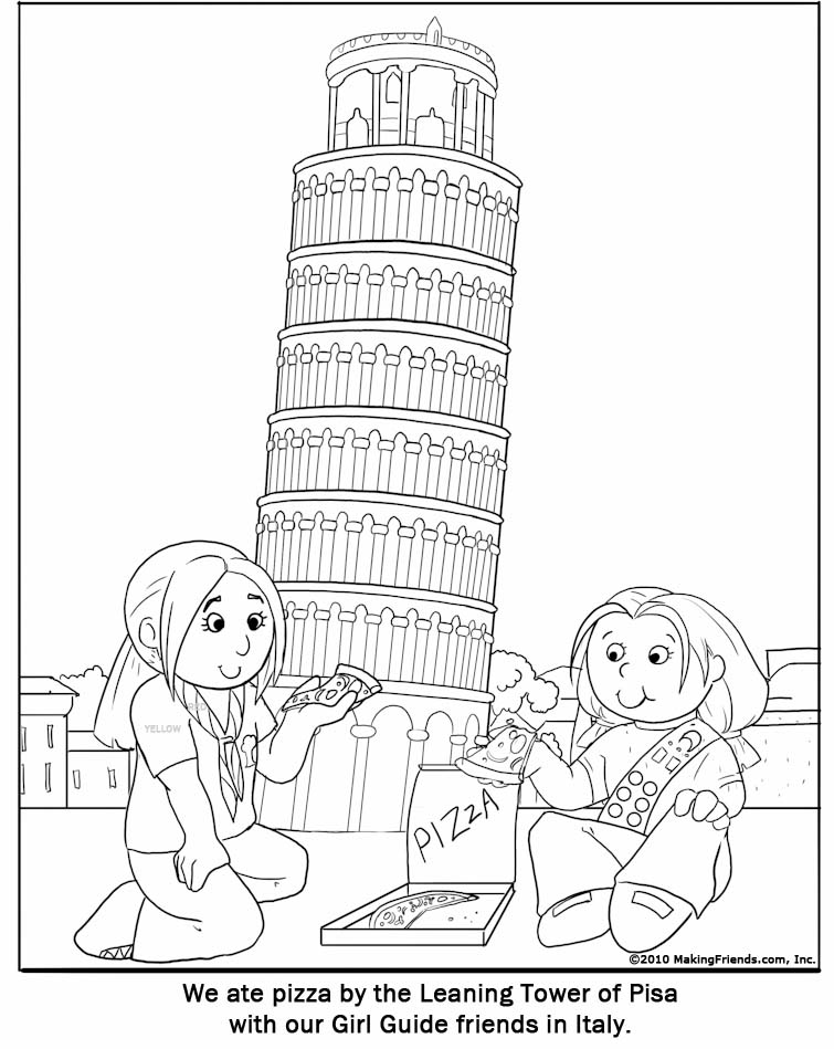 Italy coloring pages to download and print for free