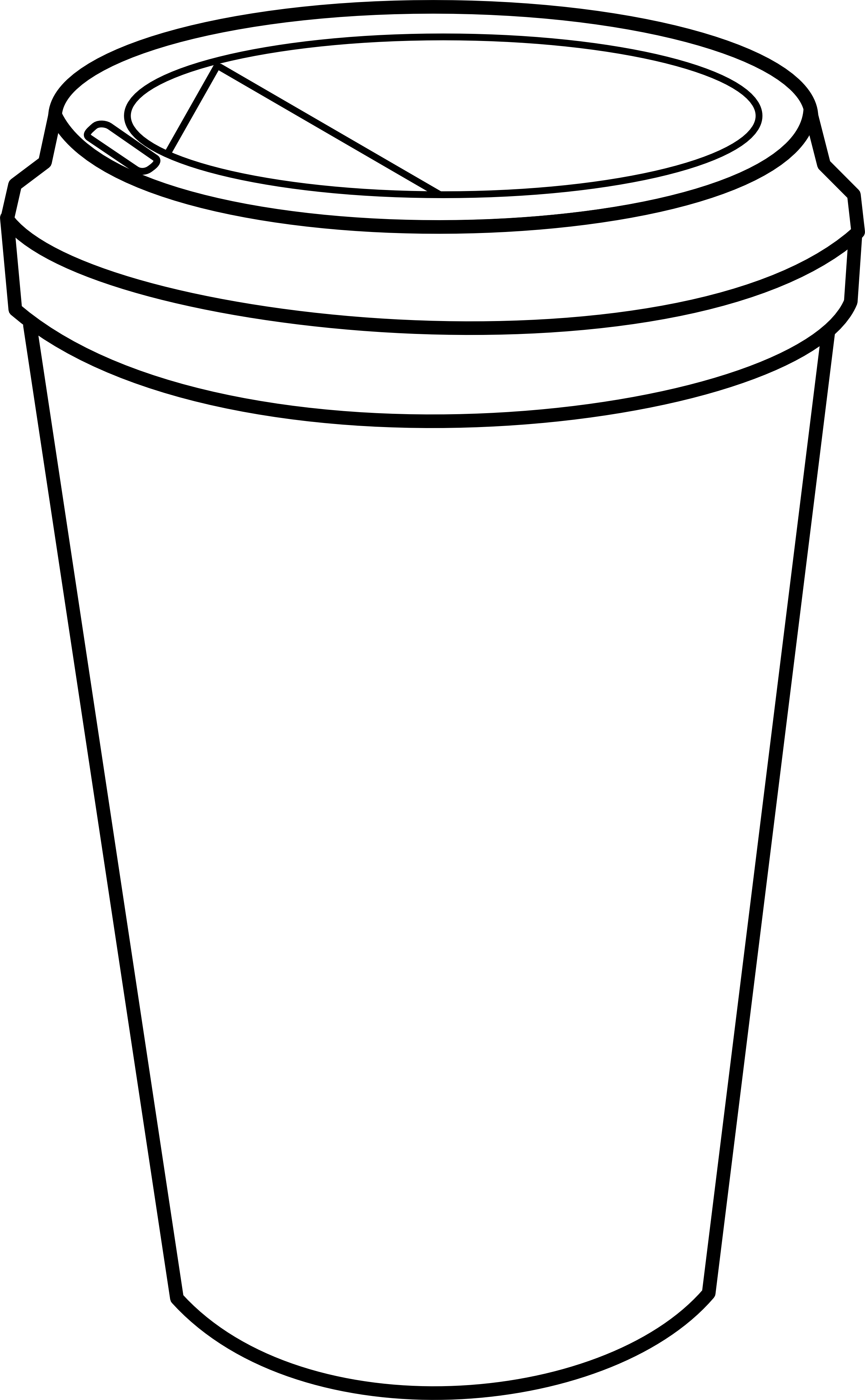 Cups coloring pages download and print for free
