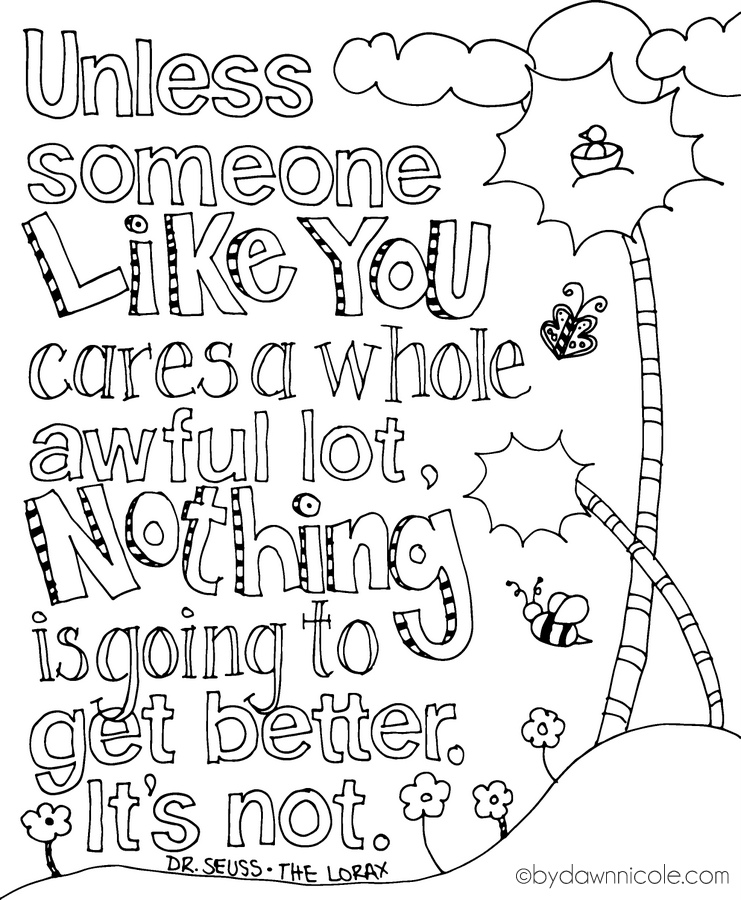 Inspirational coloring pages to download and print for free