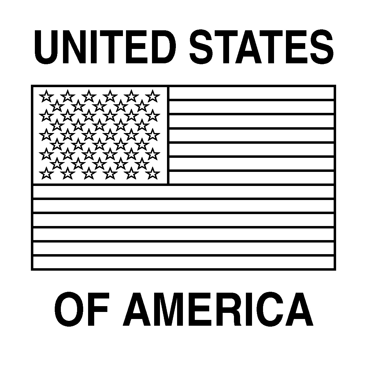 American Flag Coloring Pages To Download And Print For Free