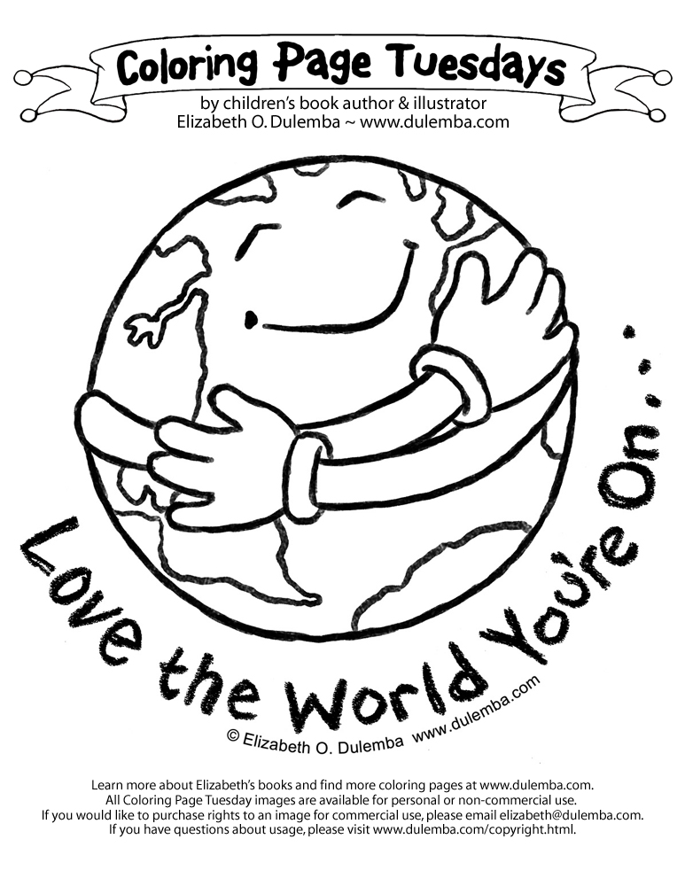 Kindergarten earth day coloring pages download and print
