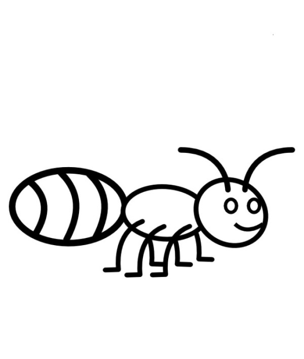 ant coloring pages