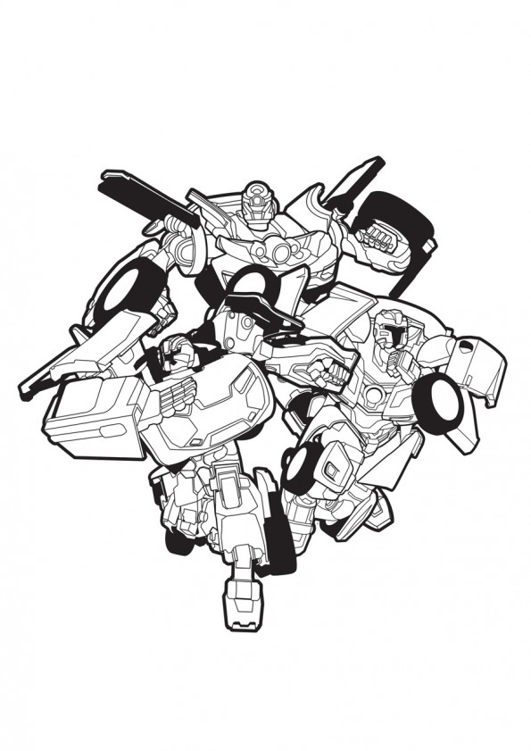 Tobot Coloring Pages To Download And Print For Free