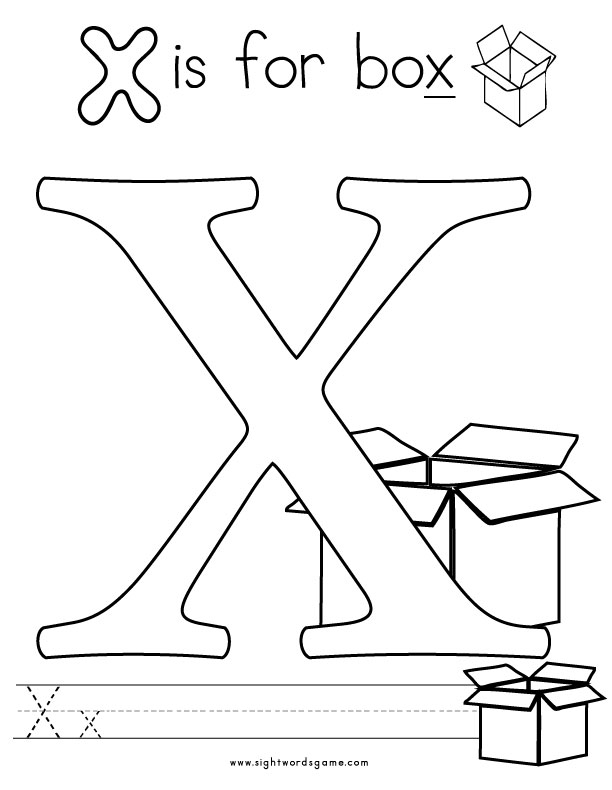 Alphabet recognition coloring pages download and print for
