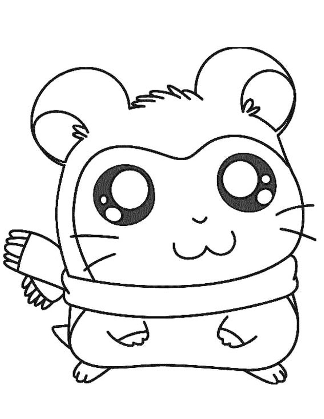 Guinea Pig Coloring Pages To Download And Print For Free
