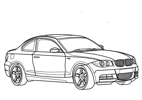 Bmw Coloring Pages And Print Free