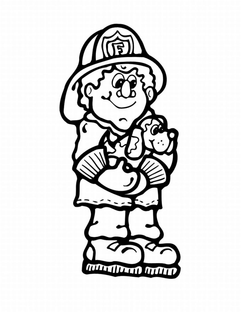 Fire prevention coloring pages download and print for free