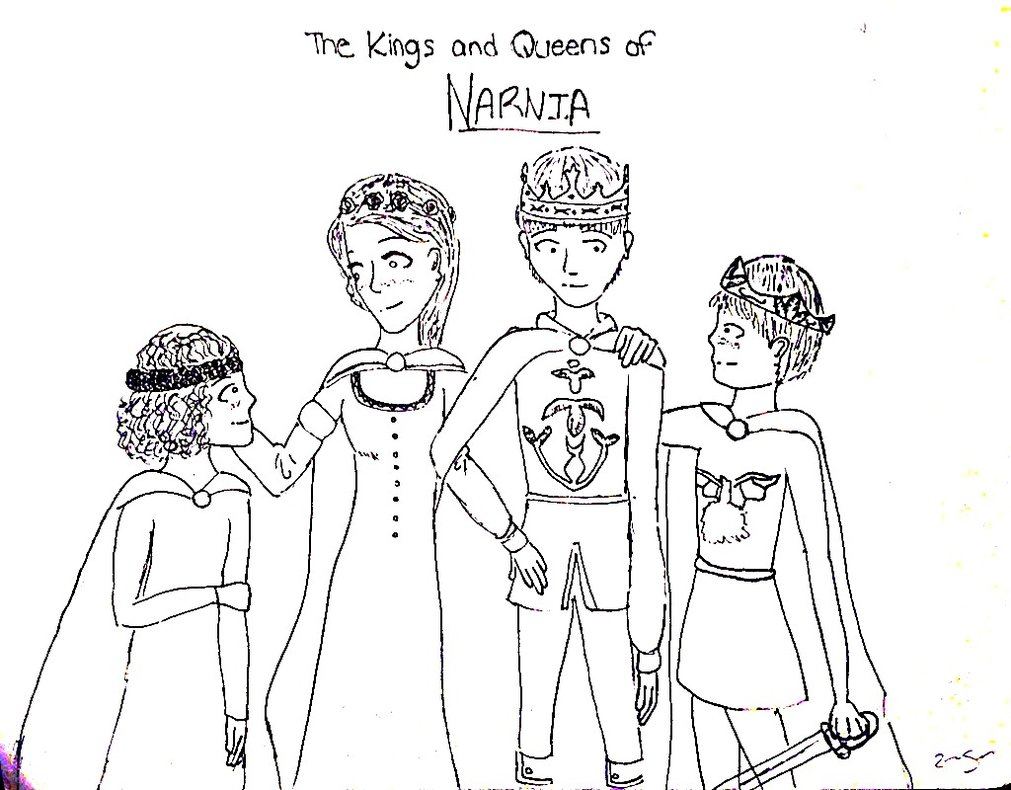 Narnia coloring pages to download and print for free