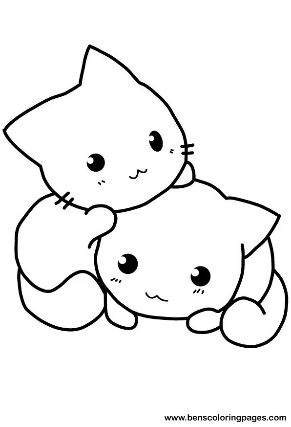Cute Cat Coloring Pages To Download And Print For Free Coloring Pages