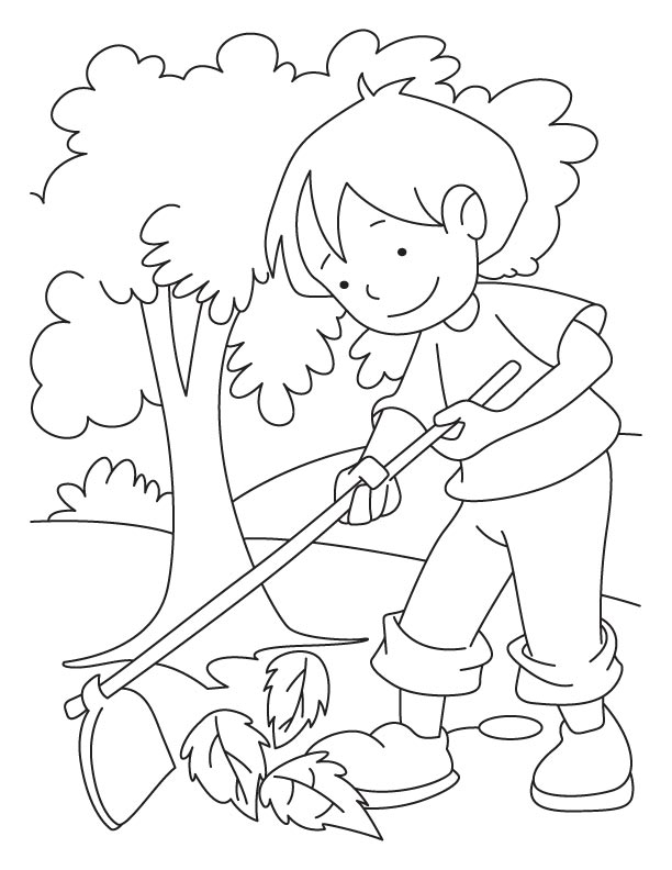 Environment daycoloring pages download and print for free