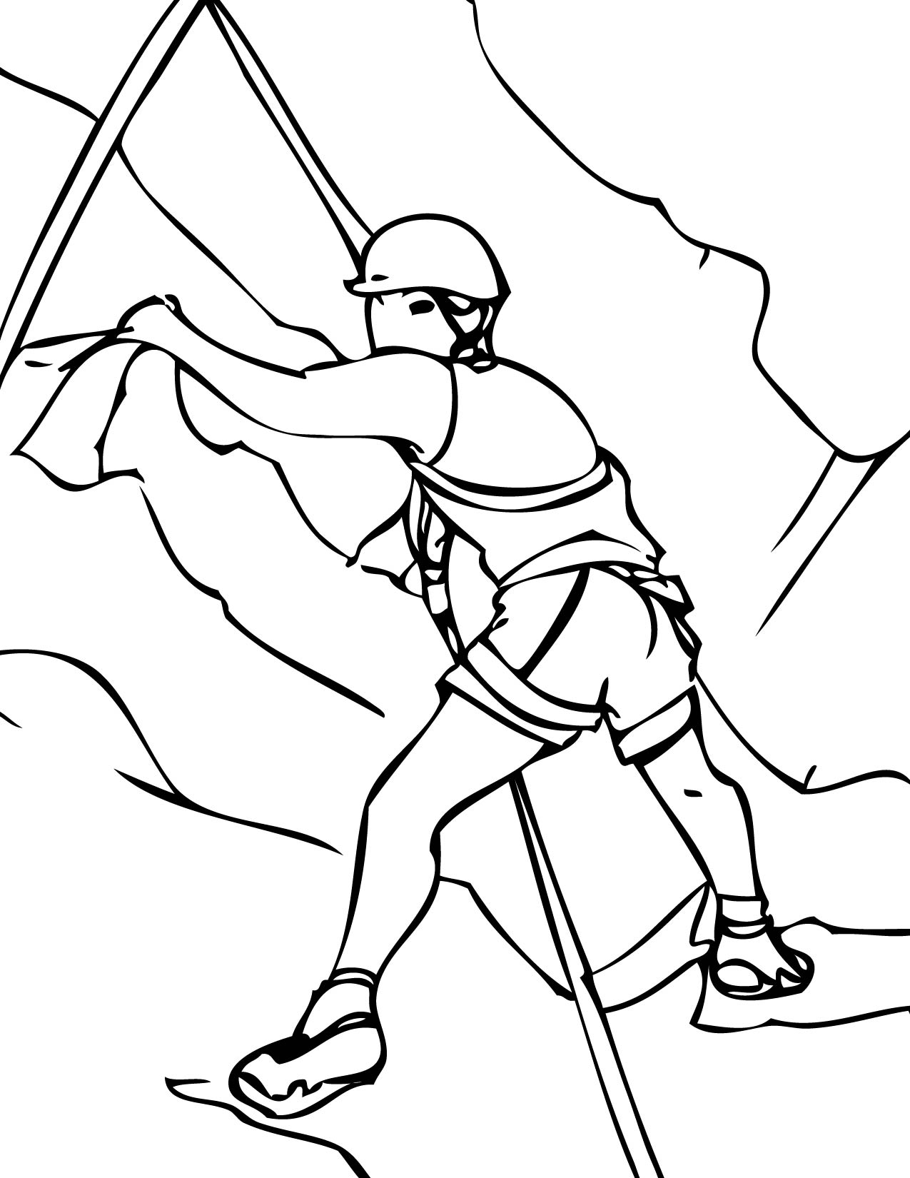 Rock coloring pages to download and print for free