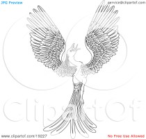 Phoenix coloring pages to download and print for free
