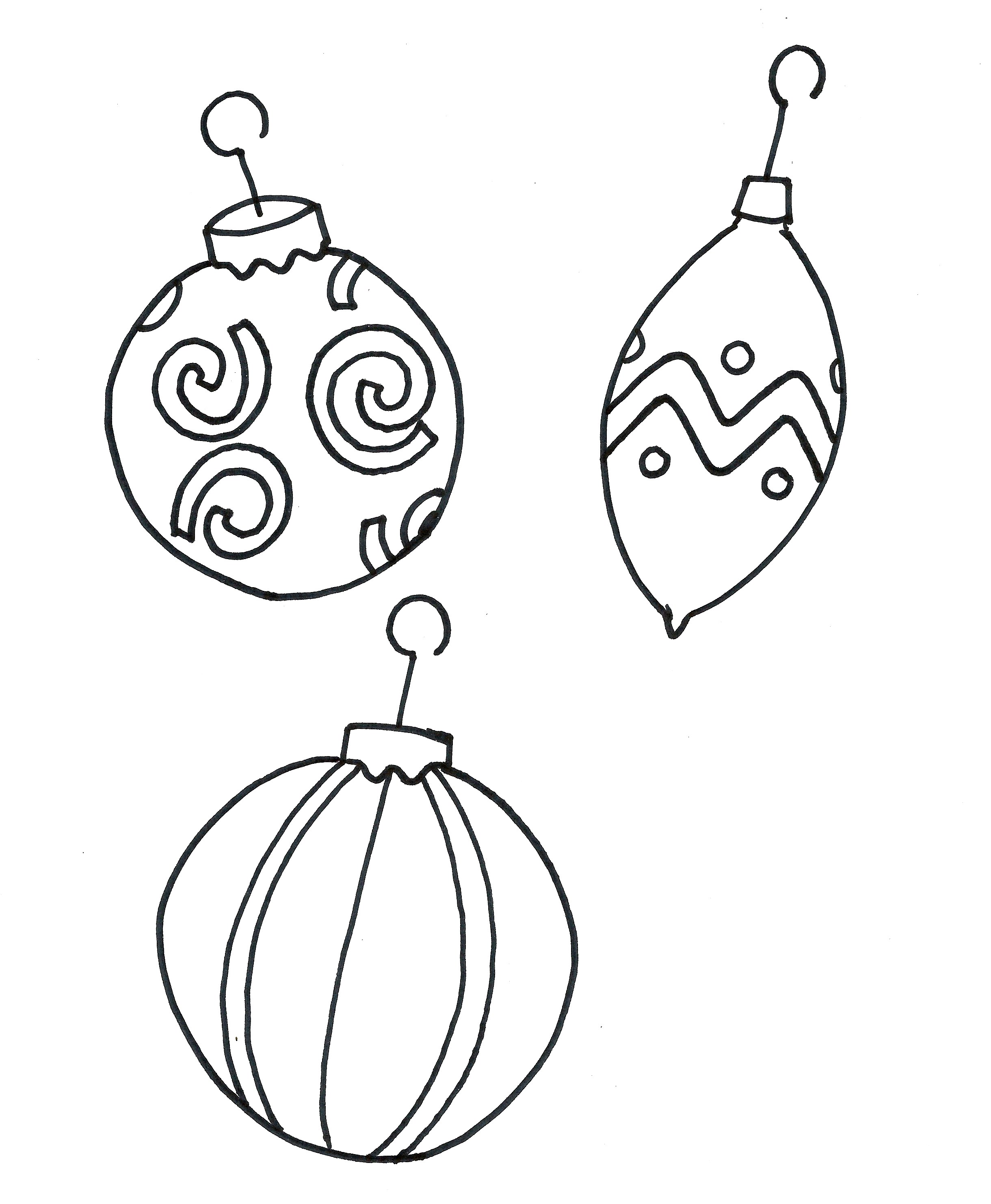 Ornament Coloring Pages To Download And Print For Free