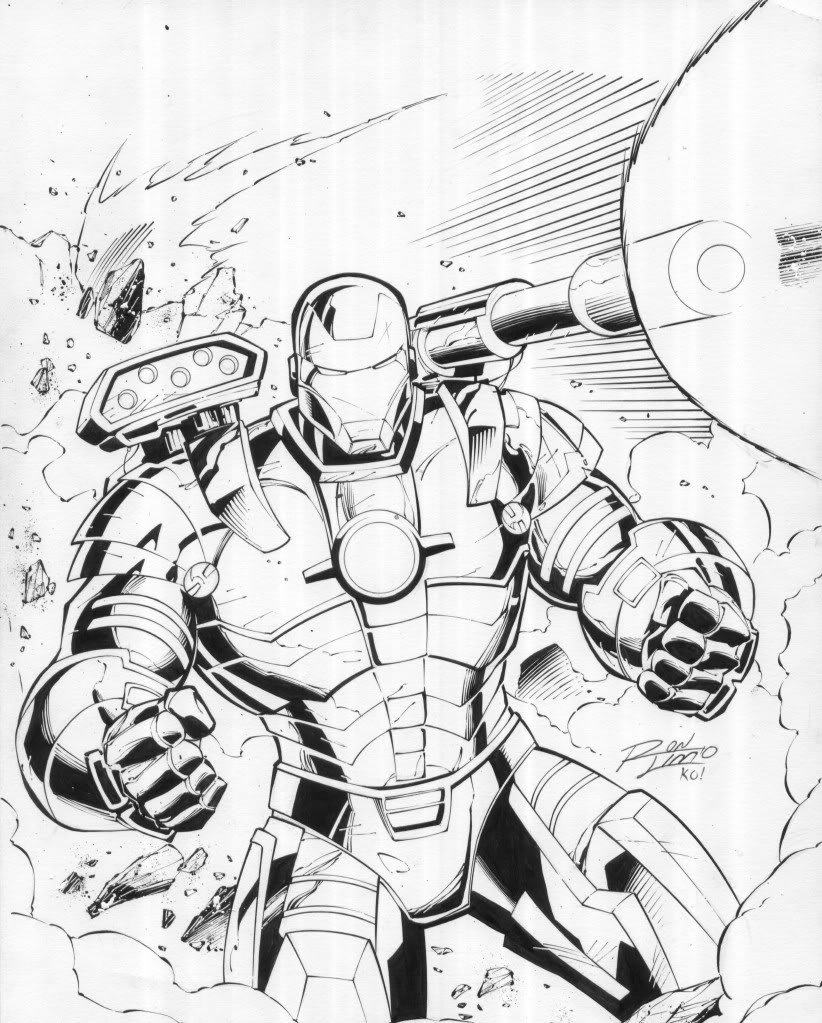 Iron Man 3 War Machine Coloring Page Coloring Pages