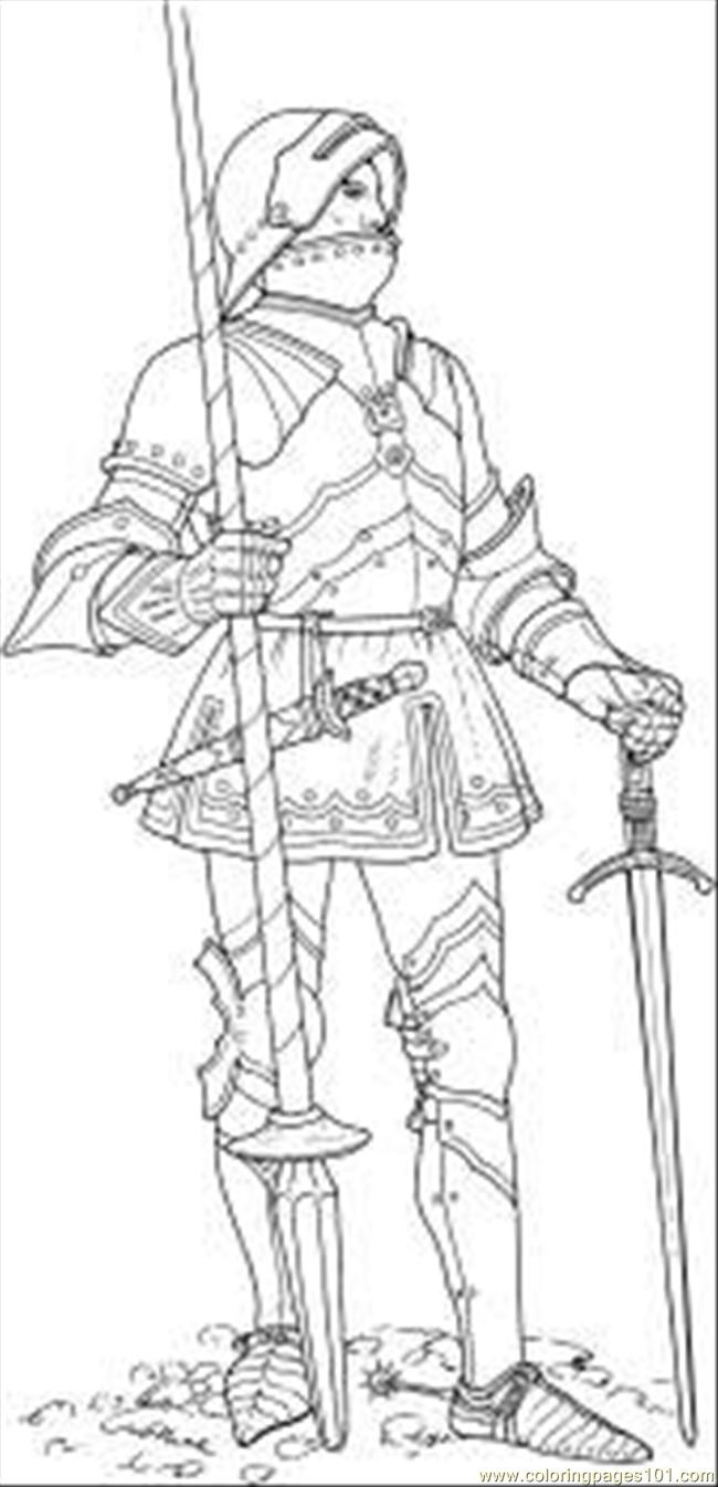 Castles and knights coloring pages download and print for free