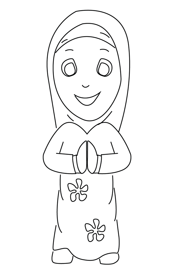 Ramadan coloring pages to download and print for free