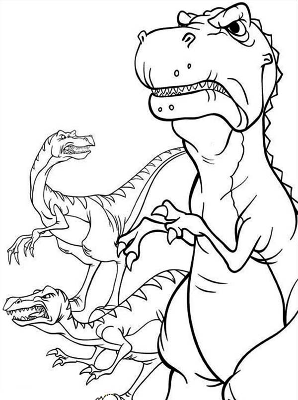 The Land Before Time Printable Coloring Pages 19