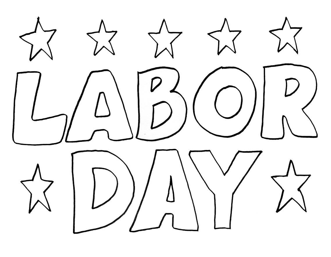Labor Day Printable Worksheet Free
