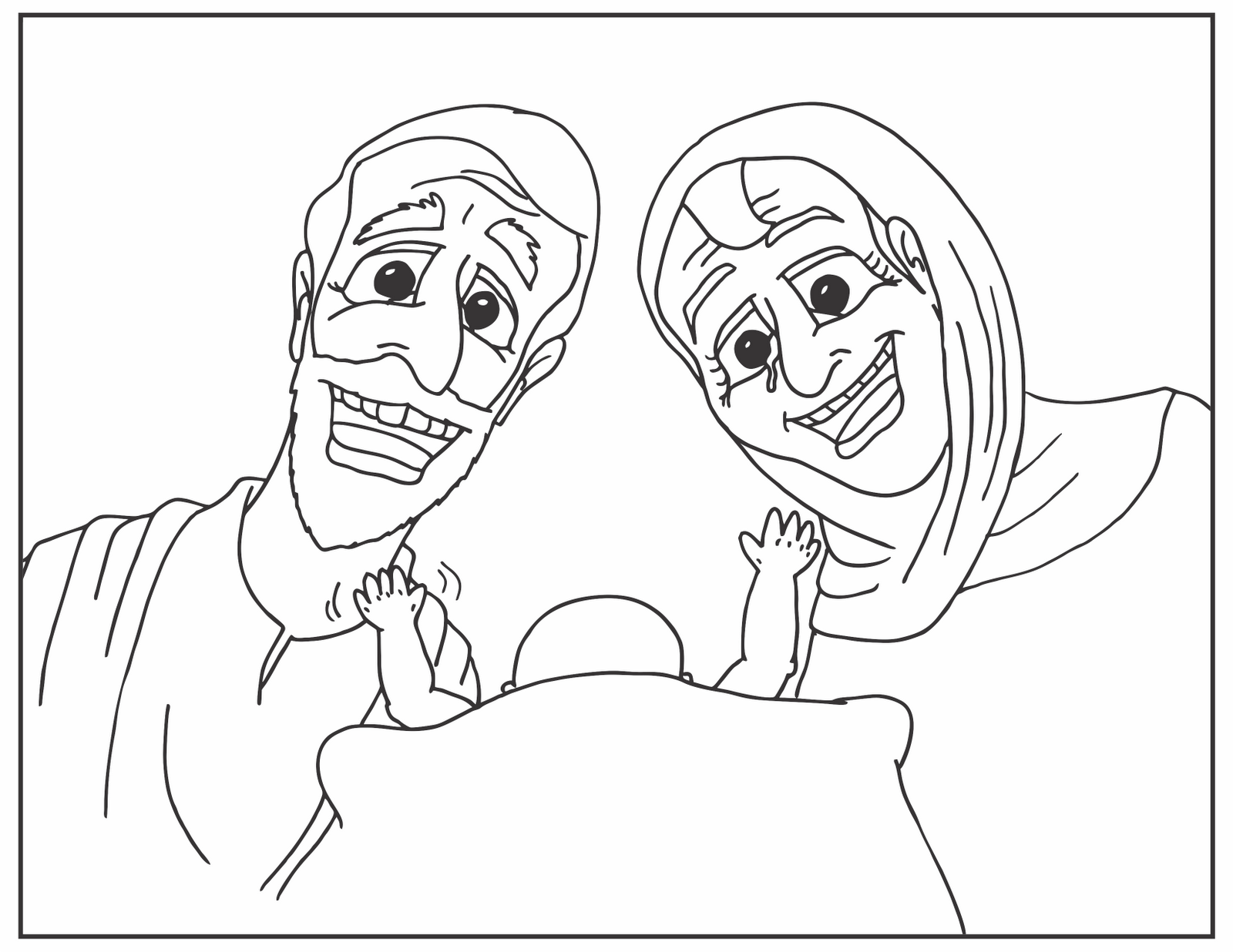 Baby isaac coloring pages download and print for free
