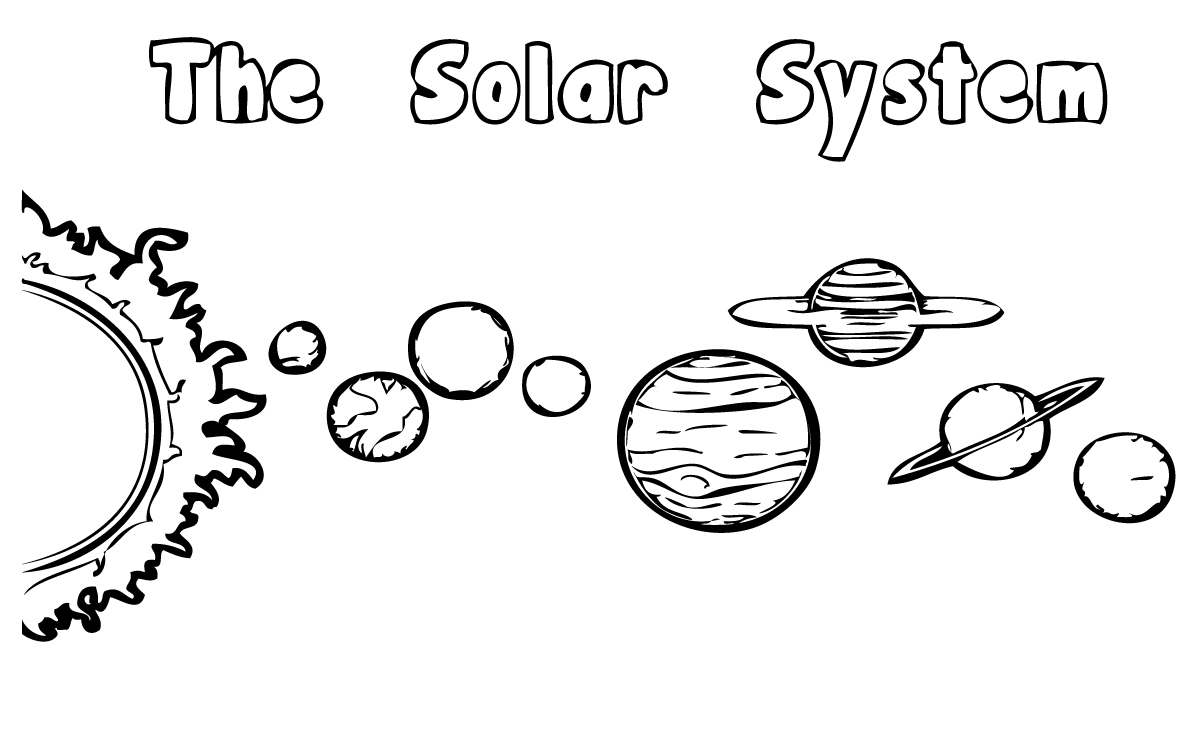 solar system coloring pages - 1200×748