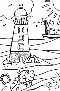 Malvorlagen Leuchtturm Lighthouse Coloring Pages For Adults