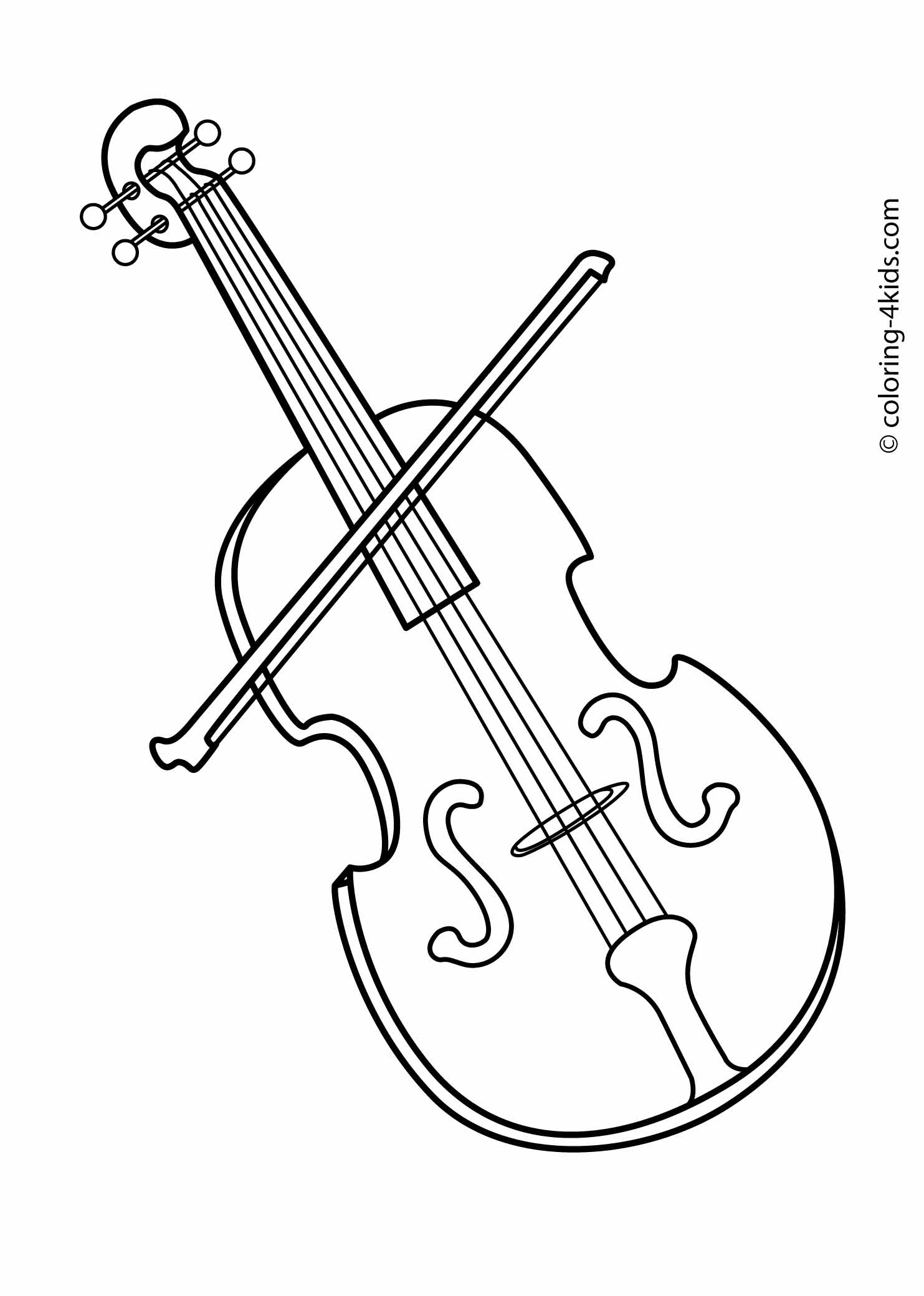 Instrument Coloring Pages To Download And Print For Free