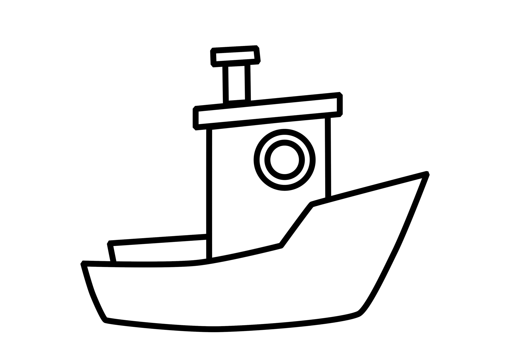 Boat coloring pages to download and print for free