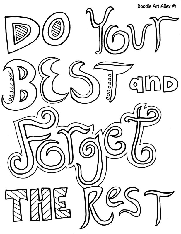 Inspirational coloring pages to download and print for free | free printable coloring pages inspirational quotes