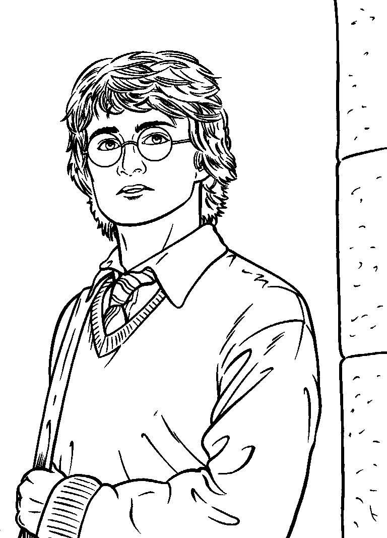 Harry potter coloring pages to download and print for free