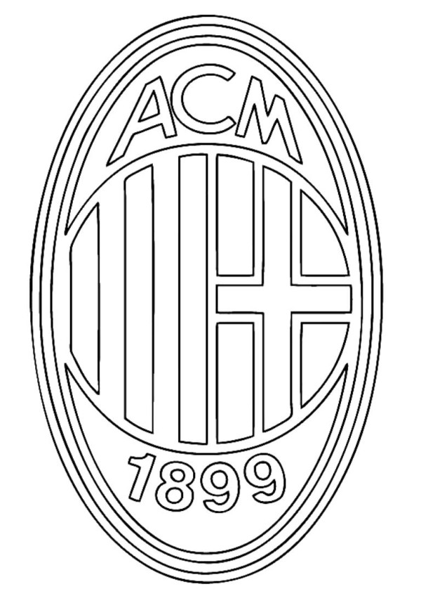 Soccer logos coloring pages download and print for free