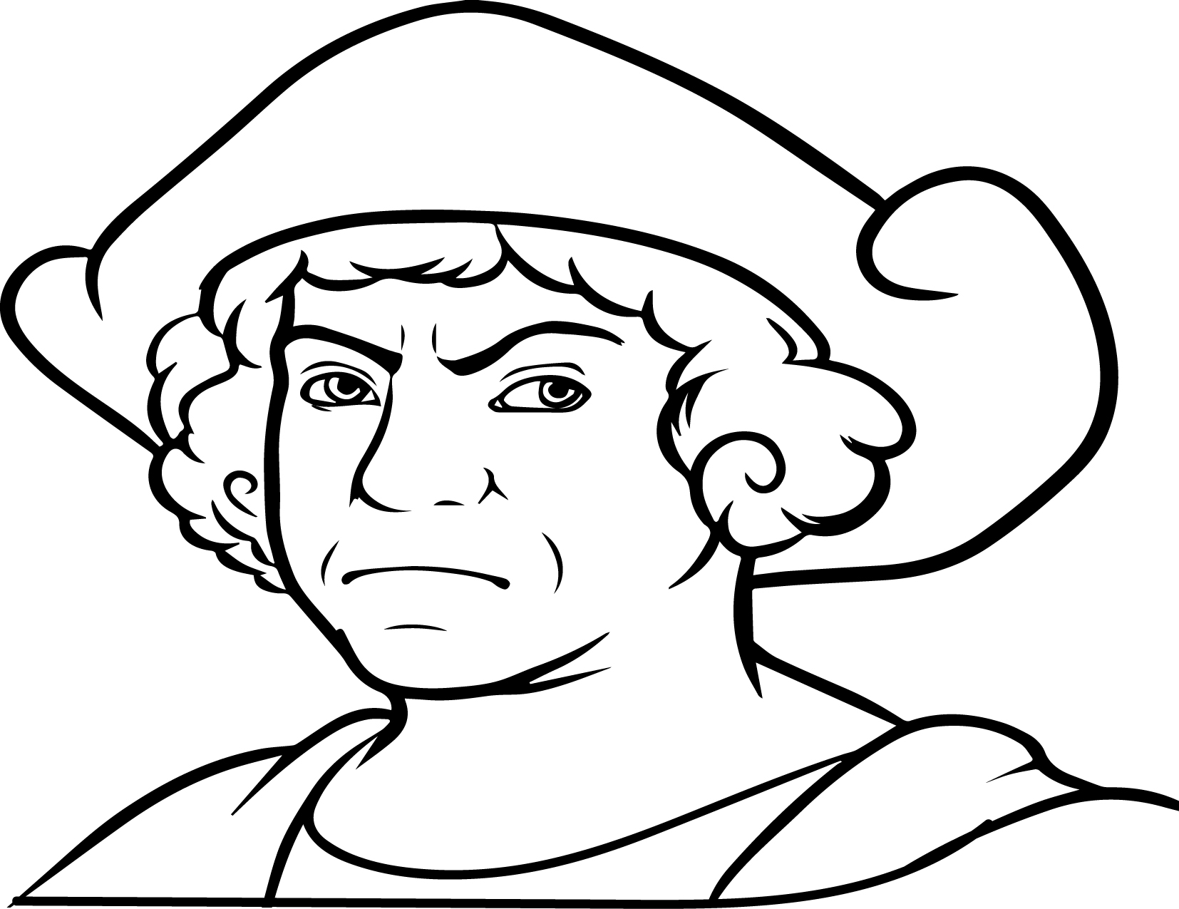 Christopher Columbus Coloring Pages Printable Coloring Pages