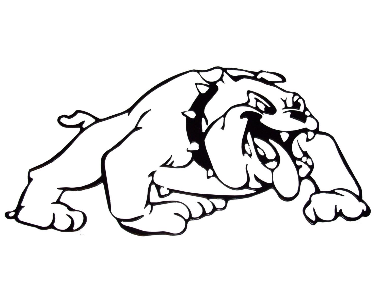 Coloring Georgia Printables Bulldogs