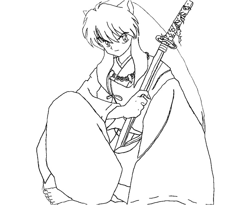 Kikyo coloring pages download and print for free