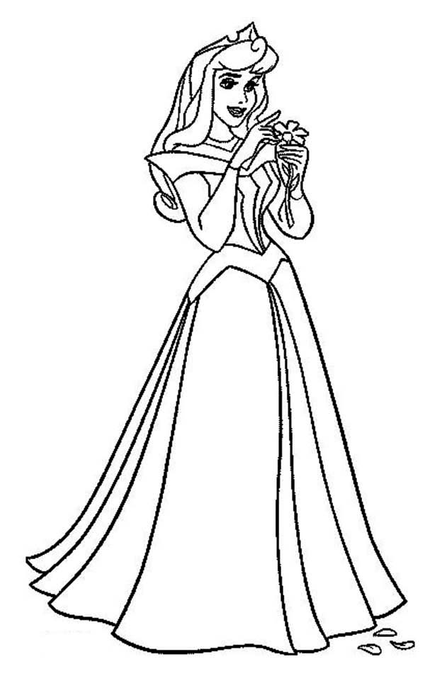 Aurora Coloring Pages To Download And Print For Free