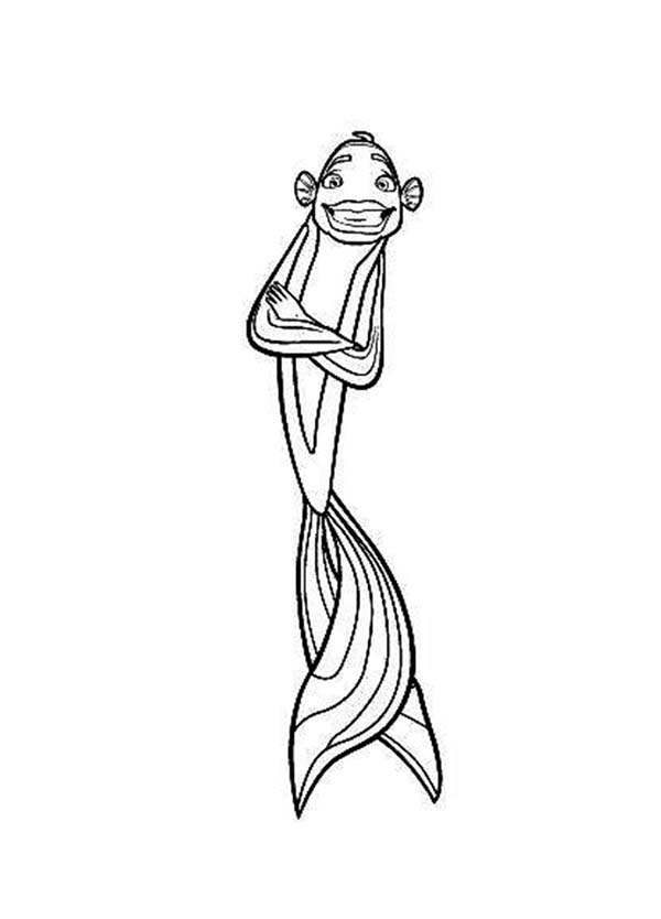 Shark tales coloring pages download and print for free