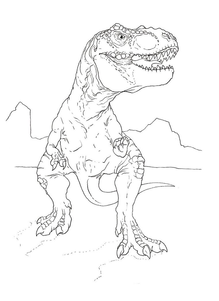 Raptor coloring pages download and print for free