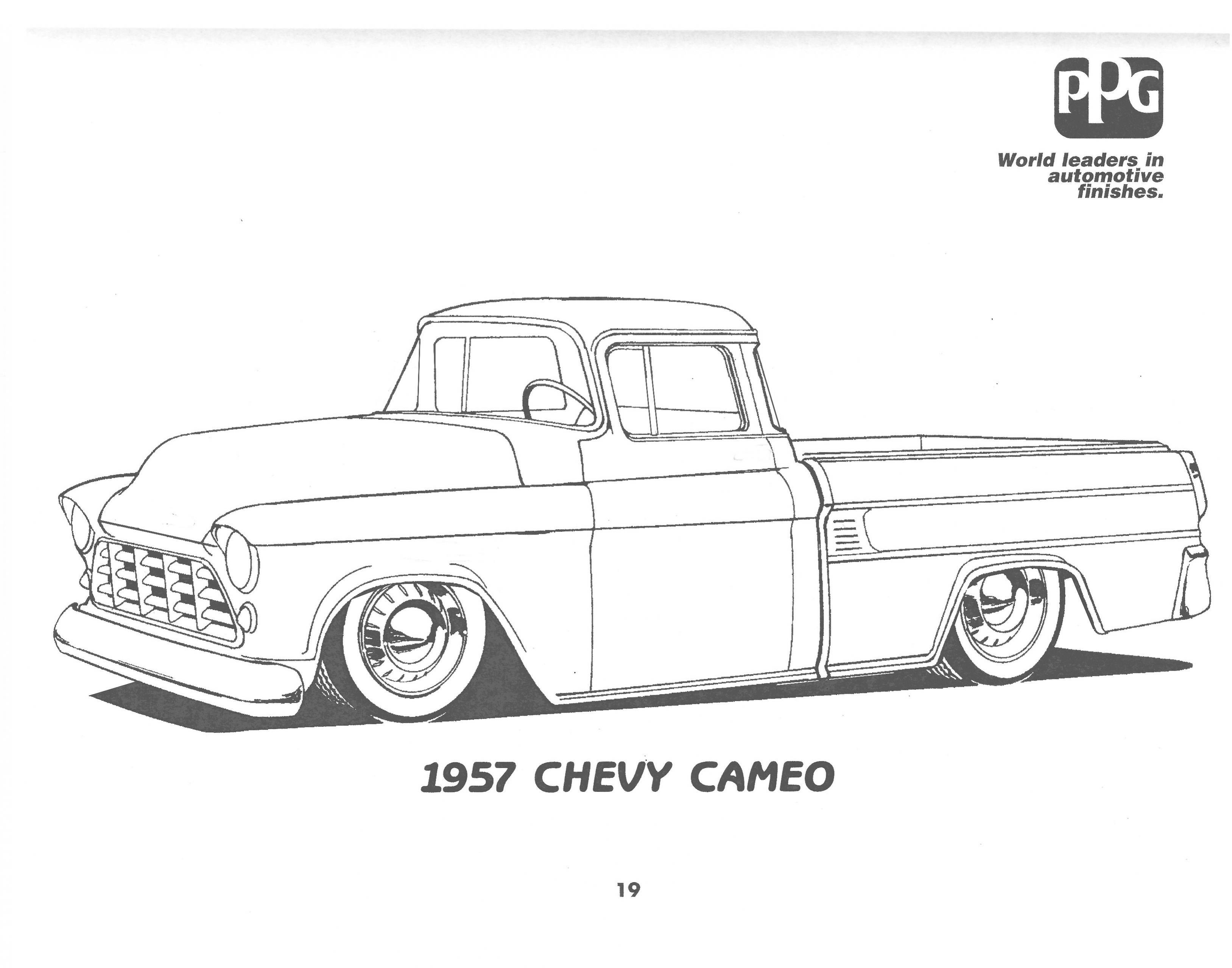 1950 chevy 4 door truck