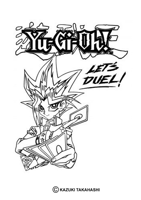 Cute Turtle Drawing Wallpaper Yugioh Coloring Pages To Download And Print For Free