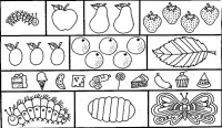 Very hungry caterpillar coloring pages to download and ...