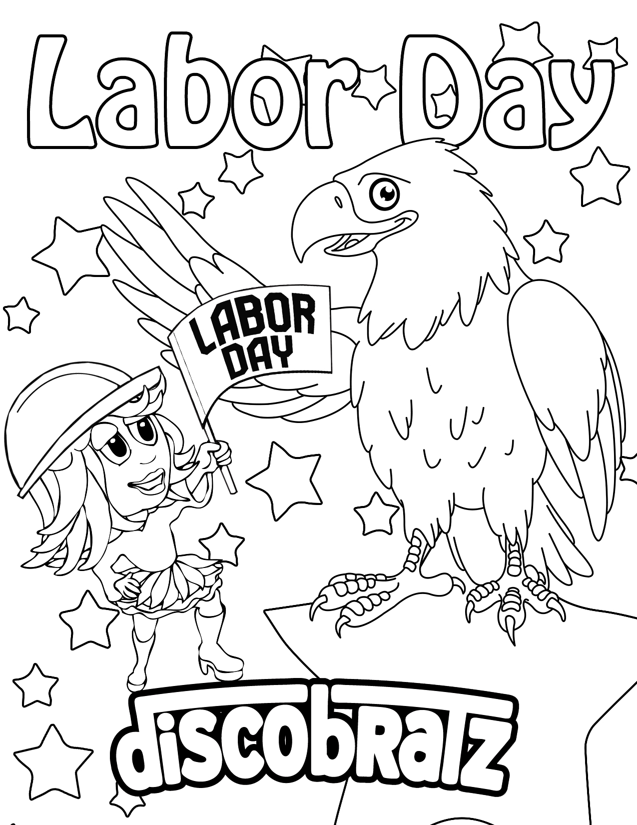 Labor Day Coloring Pages To Download And Print For Free