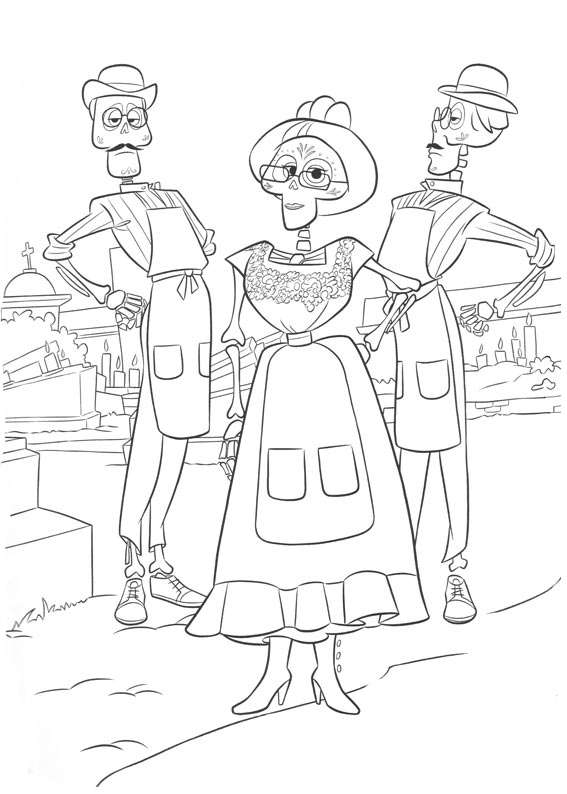 Coco coloring pages to download and print for free
