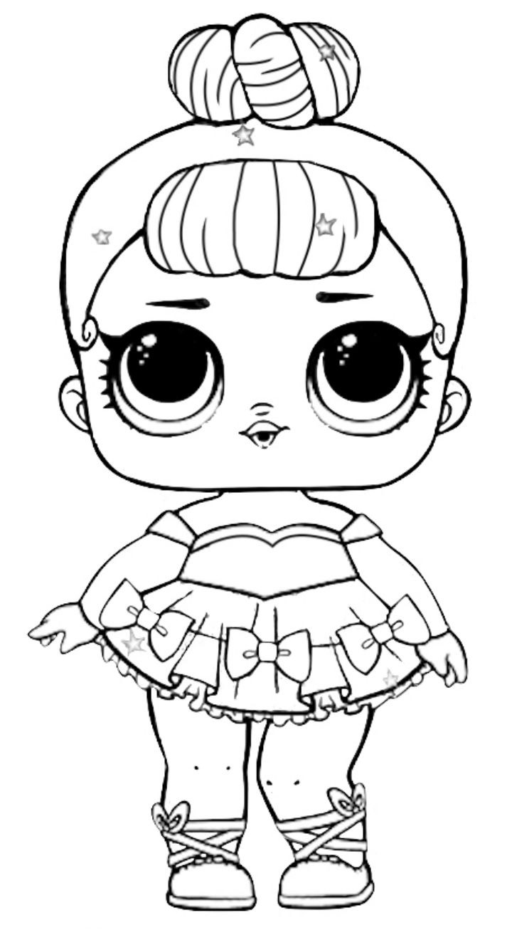 LOL Surprise coloring pages to download and print for free