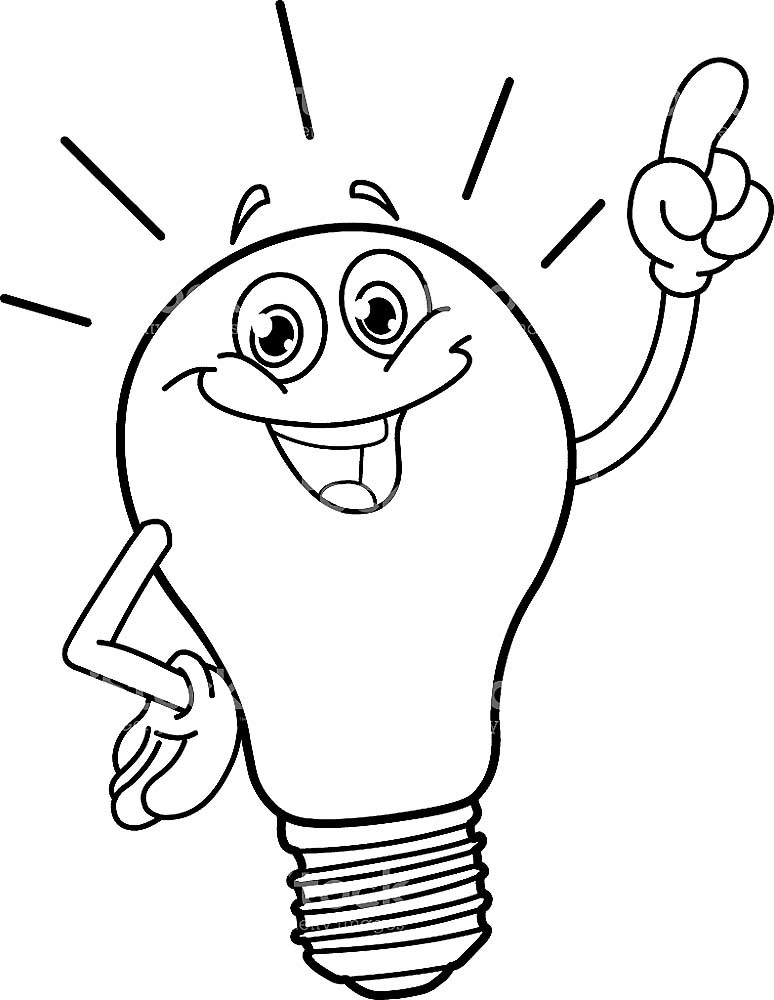 Electricity coloring pages to download and print for free
